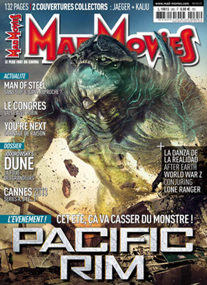 Mad Movies N°265 couverture Kaiju
