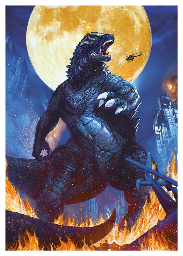 Affiche collector Godzilla