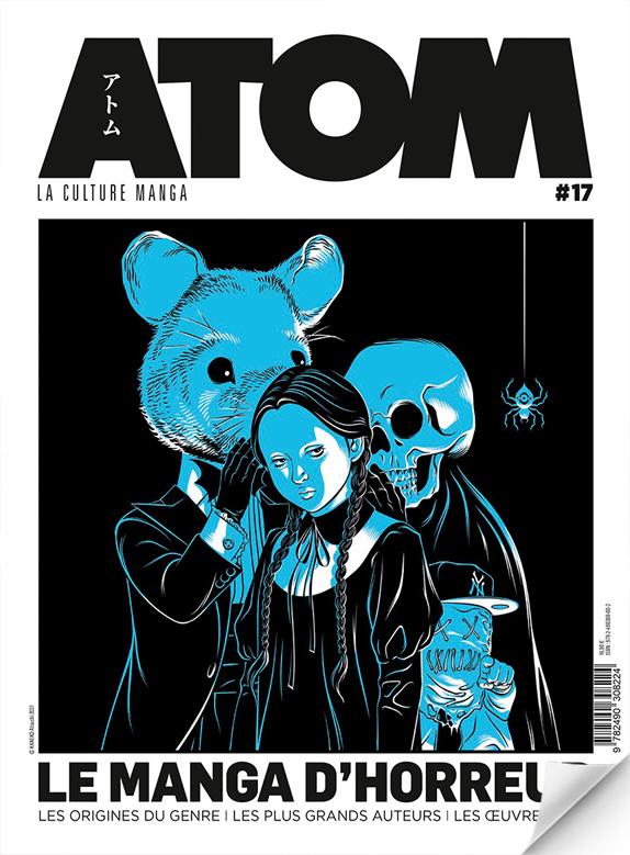 ATOM N°17a (souple) Spécial horreur