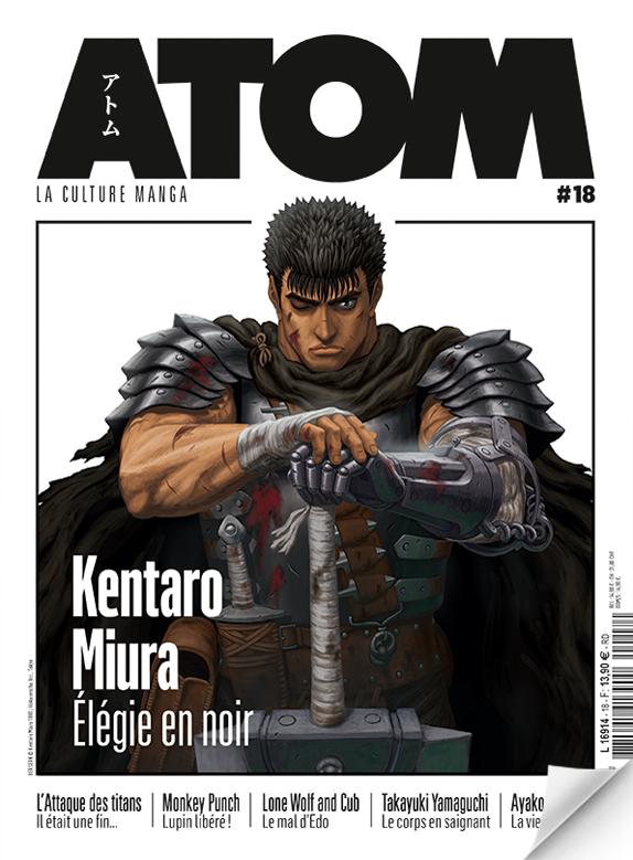 ATOM N°18a (souple) Hommage à Kentaro Miura
