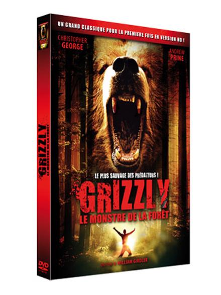 Grizzly, le monstre de la forêt