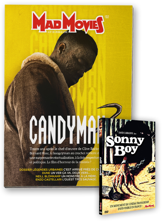 MadMovies N°352 & DVD Sonny Boy